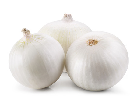 Onion isolated on white background 免版税图像 - 44061251