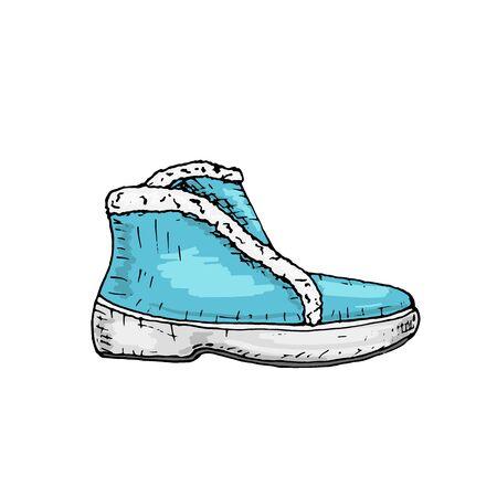 Stylish, modern beautiful vector women's shoes