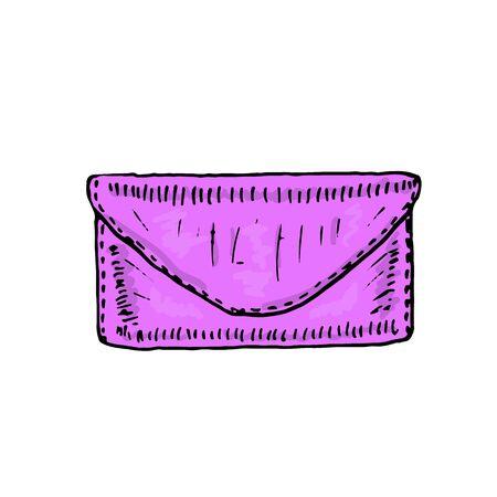 Pretty women's bags. Vector illustration
