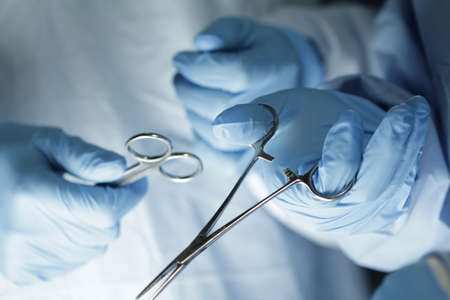 technolgy: Surgeon s hands in surgery