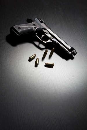 9mm semi-automatic handgun