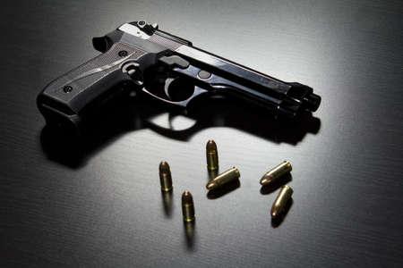 9mm handgun Stock Photo - 19125416