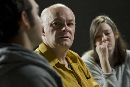 terapia de grupo: Apoyo la terapia de grupo AA