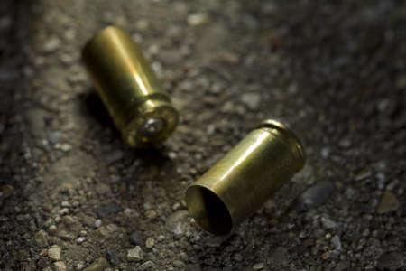Two bullet casings