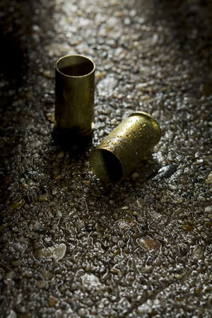 shootings: Two bullet casings