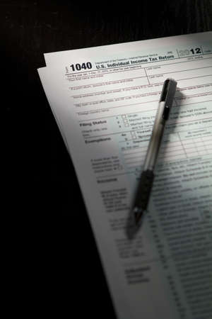 Indiviual income tax return forms