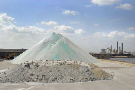 crystallize: Road salt in South side Chicago