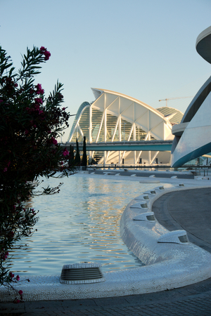 The Science Museum in Valencias City of Arts and Sciences