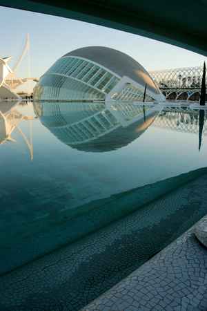 Science museum in the city of arts and science Valencia, Spain