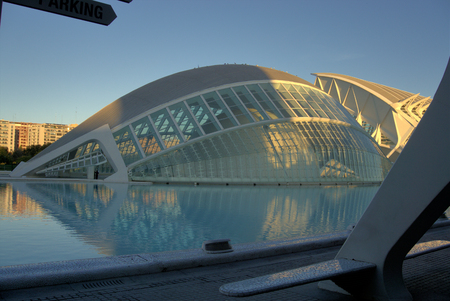Valencia's Hemispheric, City of Arts and Science, Valencia, Spain.
