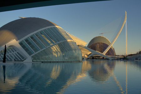 Valencias Hemispheric, City of Arts and Science, Valencia, Spain.