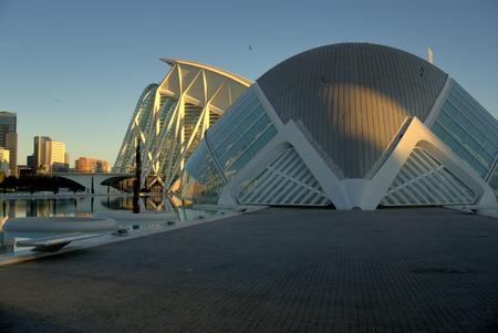 LHemisferic, Valencia. , City of Arts and Science, Valencia, Spain.
