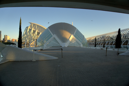 L'Hemisferic, Valencia. , City of Arts and Science, Valencia, Spain.