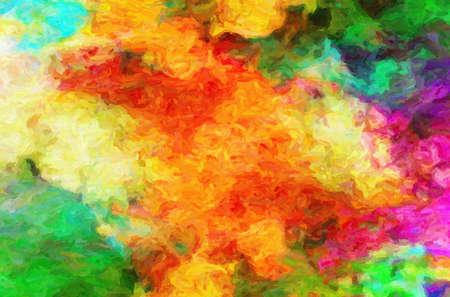 CUADROS ABSTRACTOS: El cuadro ha sido elaborado en el año 2010 el fotógrafo del artista Vladimir Burmakin en el programa un photoshop a una imagen, efectos de la pintura al óleo y los arañazos se han aplicado a la más natural de una imagen de aceite existente con detalles finos en una pictur Editorial