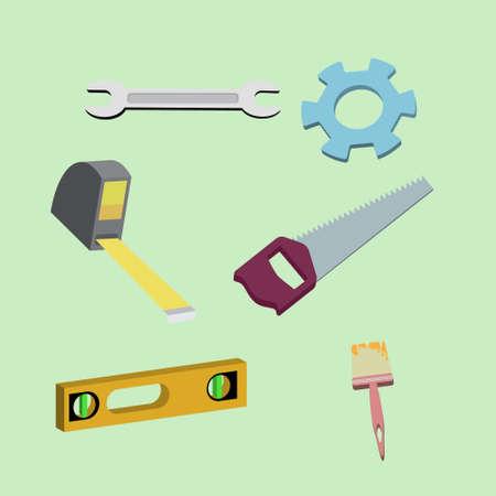 zes onderwerpen in het volume voor gebruik in de bouw en reparatie
