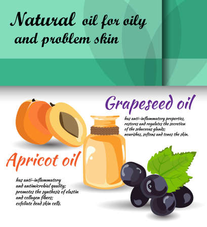 apricot: description of useful properties of apricot, grapeseed oils  care for oily skin