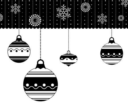 white winter: winter pattern. winter black and white background. white snowflake Illustration