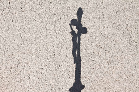 Jesus Christ and hisshadow on the wall  photo