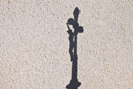 Jesus Christ and hisshadow on the wall