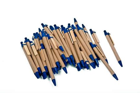 ballpoint pen: ballpoint pens isolated on white background