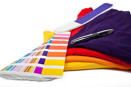 choose your favorite color and put it on t-shirt Stock Photo