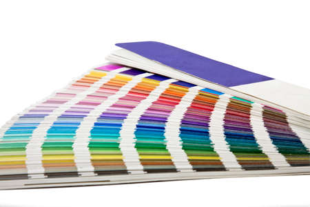 open color scale in horizontal position Stock Photo