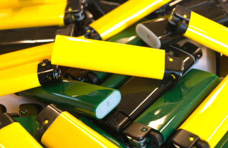a pile of colorful lighters Stock Photo - 17215393