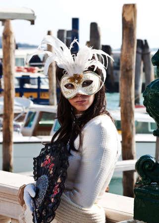 masked beautiful girl Stock Photo - 17368309