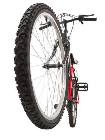 bicycle wheel: mountain bike, front wheel in first plain
