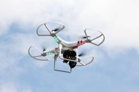 Digitalkamera auf Flugkörper Fahr per Fernbedienung