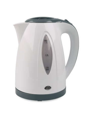 electric kettle: electric kettle isolated on white background
