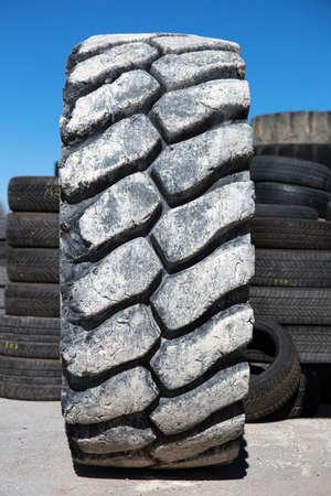 big used bulldozer tire