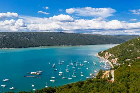 An aerial view of Trget, Istria, Croatia Reklamní fotografie