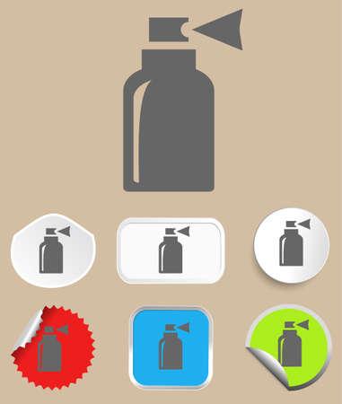 propellant: Spray icon Illustration