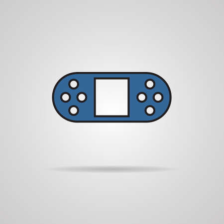 illustration of game controls, Vector