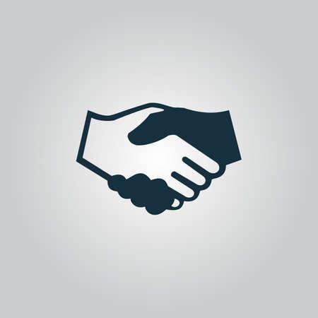 Handdruk voor zaken en financiën. Stockfoto - 36313851