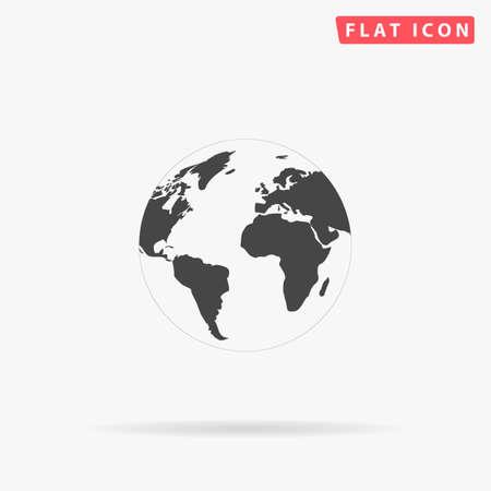 globo terraqueo: Globo de la tierra del icono del vector. Icono de globo de tierra JPEG. Tierra del globo icono de imagen. Icono del globo imagen Tierra. Icono de globo de tierra JPG. Globe EPS icono de la tierra. Icono de globo de tierra AI. Globo de dibujo icono de la Tierra