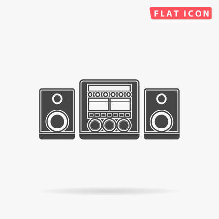 Sound System Icon Vector. Sound System Icon JPEG. Sound System Icon Picture. Sound System Icon Image. Sound System Icon JPG. Sound System Icon EPS. Sound System Icon AI. Sound System Icon Drawing Vettoriali