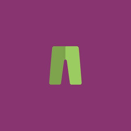 Capri. Colorful vector icon. Simple retro color modern illustration pictogram. Collection concept symbol for infographic project and logo Ilustração