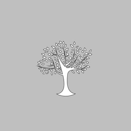 reforestation: Tree Icon Vector. Flat simple color pictogram