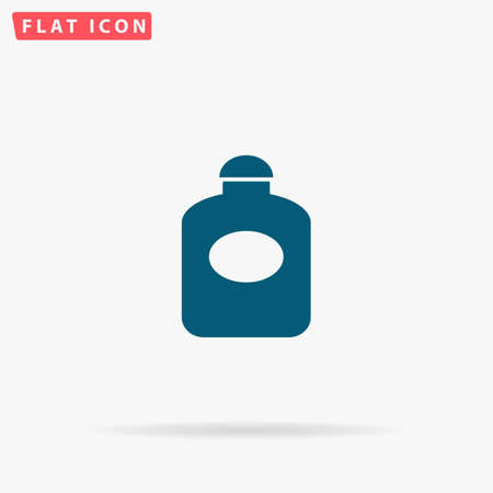 perfume atomizer: Parfume Icon Vector. Flat simple Blue pictogram on white background. Illustration symbol with shadow Illustration