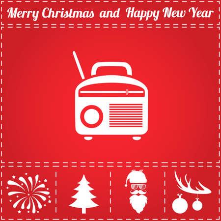 Free Christmas Radio.320 Christmas Radio Stock Vector Illustration And Royalty