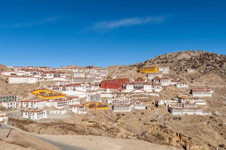 Tibet monastery 版權商用圖片