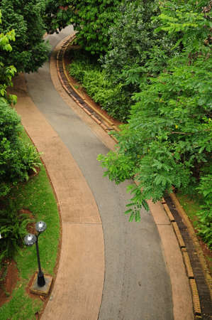 curve line: street line curve Stock Photo