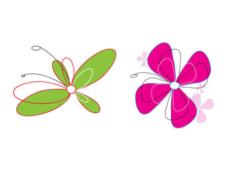 the design: Catch your eye Vector Flowers  Illustration