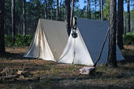 Civil War re-enachtment Stock Photo