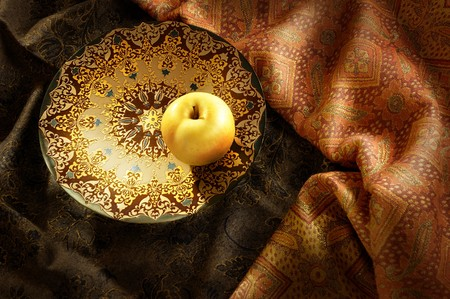 cordiality: Traditional fair tale in dark tones Stock Photo