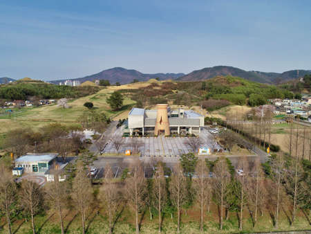 Haman Museum in Haman County, Gyeongnam, South Korea, Asia