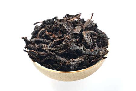 A piece of tea Da Hong Pao cake