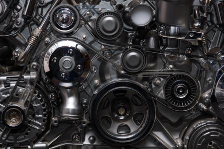 Een fragment van de motor